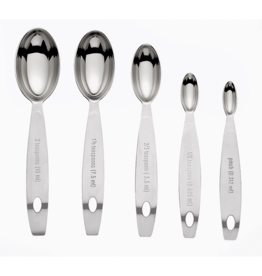 Cuisipro CUISIPRO S/S Measuring Spoons set/5 - ODD-SIZE