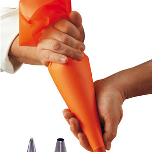 DeBuyer DEBUYER Pastry Bag Set with Two Nozzles