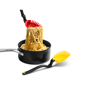 DREAMFARM Large Spaghetti Server Yellow