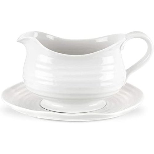 Sophie Conran SOPHIE Gravy boat with saucer