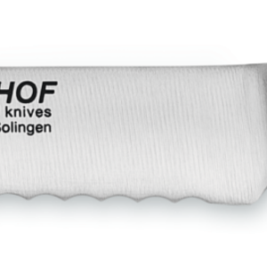 "Wusthof WUSTHOF IKON BLACK  Utility Knife 5"" Serrated"