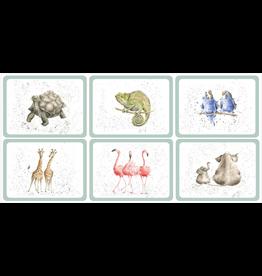 Royal Selangor Portmeirion Placemats Zoological/ Set of 6/Pimpernel