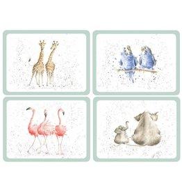 Royal Selangor Portmeirion Placemats Zoological /set/4/Pimpernel