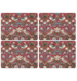 Royal Selangor Portmeirion Placemats Strawberry Thief/ Set/4 Pimpernel