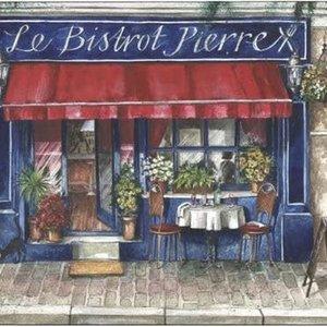 Pimpernel Placemats Cafe de Paris Set/4 Pimpernel
