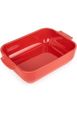 Peugeot APPOLIA Red Rectangular Baker 8""