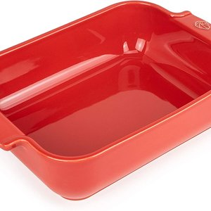 Peugeot APPOLIA Red Rectangular Baker 10""