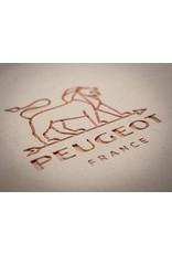 """Peugeot APPOLIA Red Oval Baker 13.5"""""""