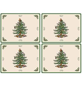 Royal Selangor Portmeirion Placemats Xmas Tree Set/4