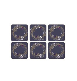 Royal Selangor Portmeirion COASTERS GARLAND/ SET OF 6
