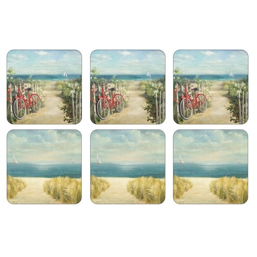 Pimpernel Coasters Summer Ride/ Set of 6
