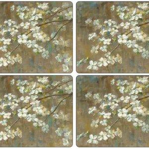 Pimpernel Placemats Dogwood in Spring Set/4