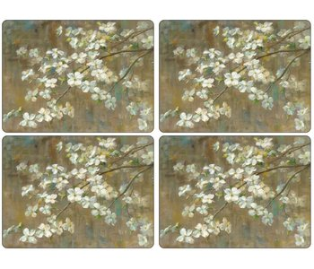 Placemats Dogwood in Spring Set/4