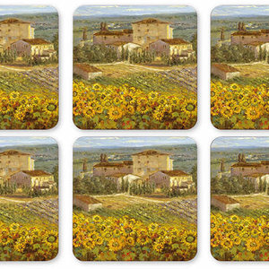 Pimpernel Coasters Tuscany Set/6