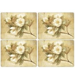 Pimpernel Placemats Sugar Magnolia Set/4