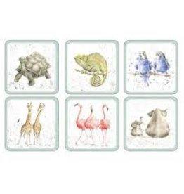 Pimpernel Coasters Zoological/ Set of 6