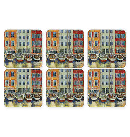 Royal Selangor Portmeirion Coasters Boat Scene/ Set of 6
