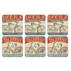 Pimpernel Coasters Beautiful Ride Set of 6
