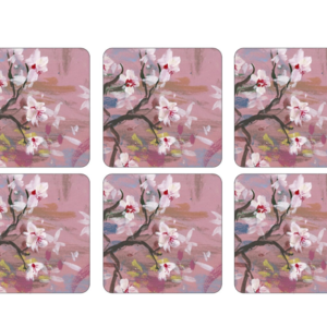 Pimpernel Coasters Emerging Spring Set/6