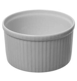 """Pillivuyt USA PILLIVUYT PLISSE Deep Souffle 8"""" 9 cups"""