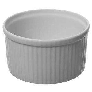 """PILLIVUYT PILLIVUYT PLISSE Deep Souffle 7.25""""  7 cups"""