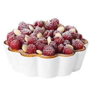 "PILLIVUYT PILLIVUYT PATISSERIE Cake/Trat/Pie dish 8 1/4"" 1 quart"