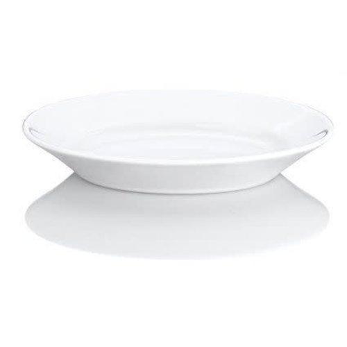 PILLIVUYT PILLIVUYT Oval Plate Small/Gravy Saucer
