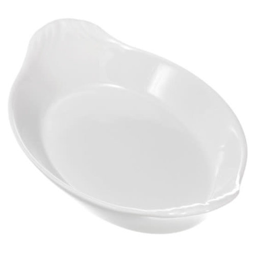 PILLIVUYT PILLIVUYT Oval earred dish 8 1/2 x 5 individual