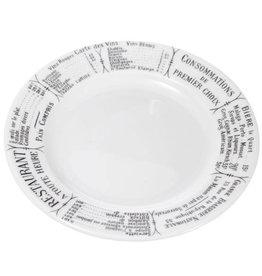 """PILLIVUYT PILLIVUYT BRASSERIE Plate 7.75"""" * special order *"""