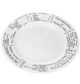 "Pillivuyt USA PILLIVUYT BRASSERIE Plate 7.75"" * special order *"