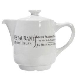 Pillivuyt USA PILLIVUYT BRASSERIE Coffee/Tea pot 18 oz