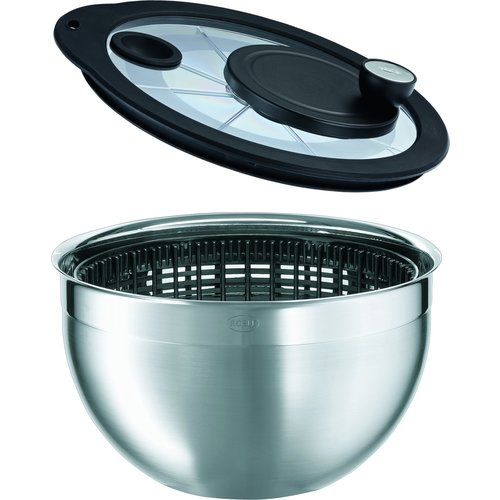 Rosle Salad Spinner with Glass Lid ROSLE