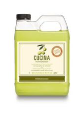 FRUIT & PASSION Cucina REFILL HAND SOAP CORIANDER & OLIVE