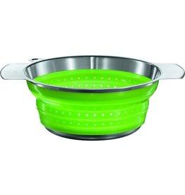 Rosle Foldable Colander Green 24cm. ROSLE