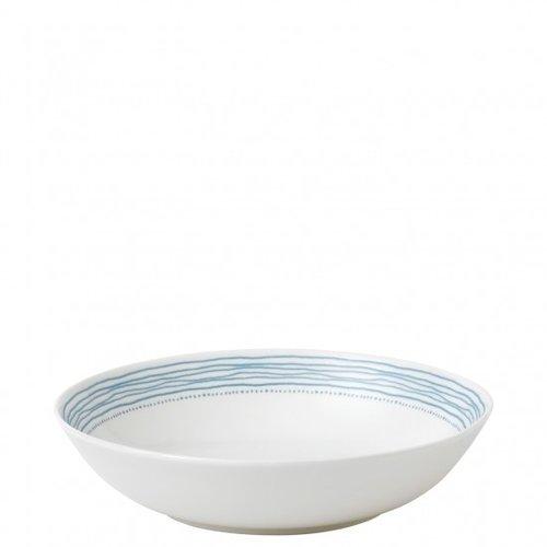 Royal Doulton ELLEN DEGENERES Pasta Bowl Polar Blue Dots