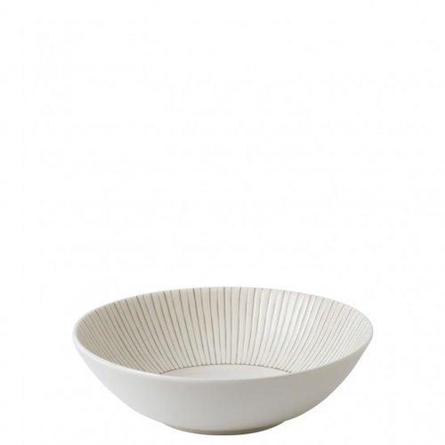 Royal Doulton ELLEN DEGENERES Bowl Cereal Taupe Stripe
