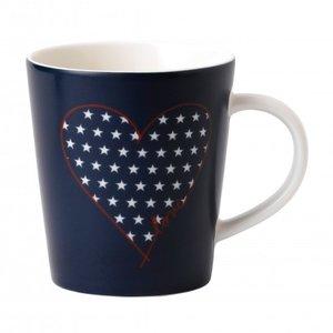 Royal Doulton ELLEN DEGENERES Mug Heart Stars