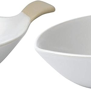 "Royal Doulton ELLEN DEGENERES Fish Bowl 8"" Set/2"