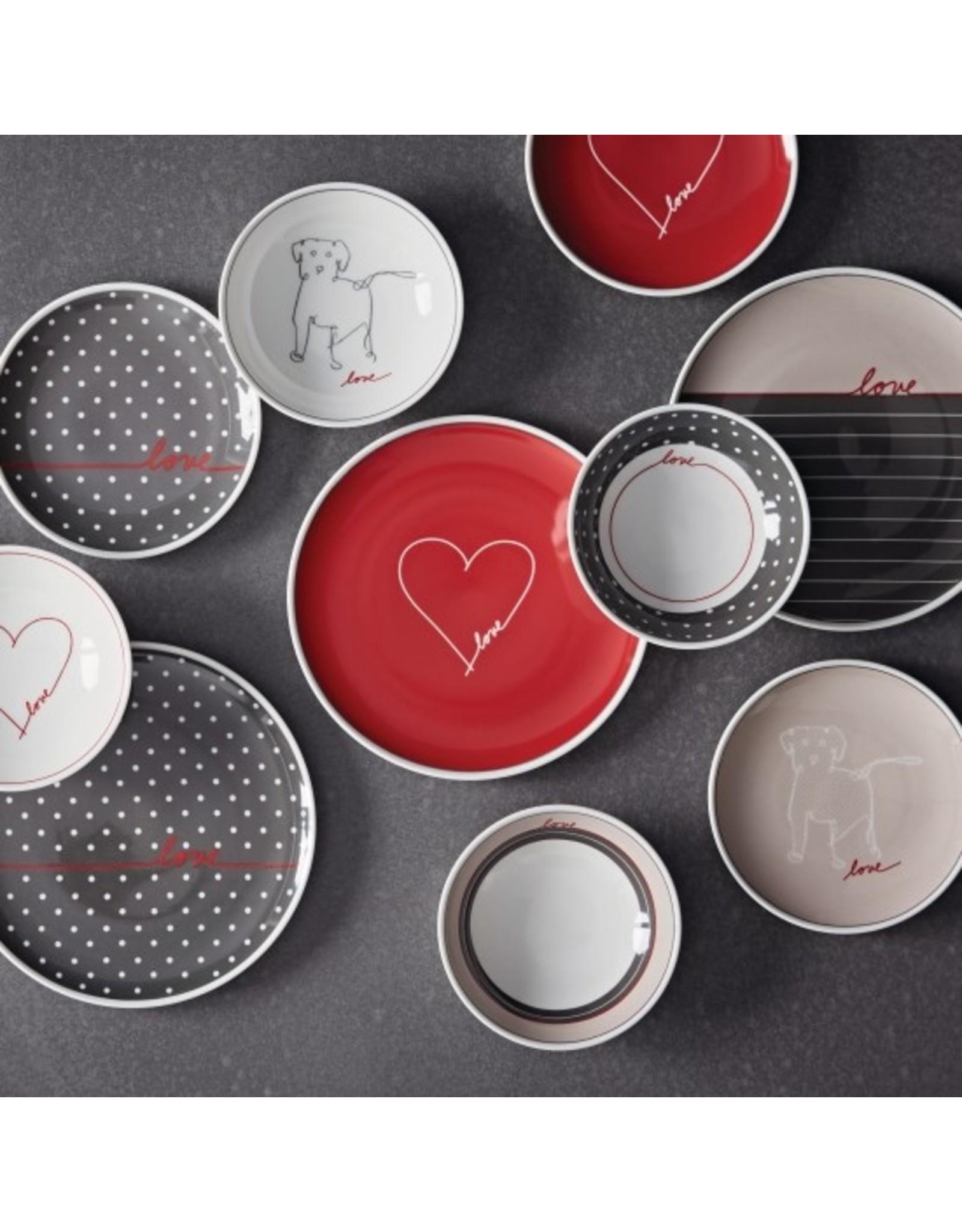 """Royal Doulton ELLEN DEGENERES Mixed Signature Bowl 5.5"""" set/4"""