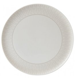 Royal Doulton ELLEN DEGENERES Serving Platter Taupe Stripe