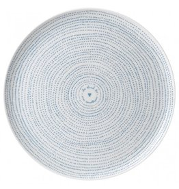 Royal Doulton ELLEN DEGENERES Serving Platter Polar Blue Dots