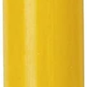"IHR Candle 10"" Column DARK YELLOW Germany"