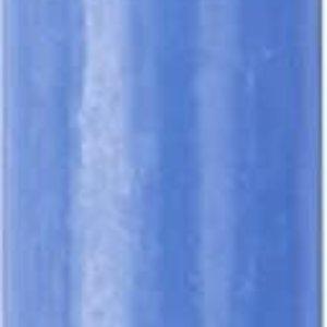 """IHR Candle 10"""" Column BRILLIANT OCEAN BLUE Germany"""