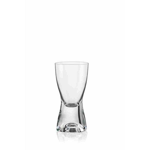 David Shaw Tableware BOHEMIA Samba Shot Glass 2.4oz