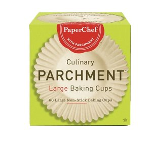 PaperChef PAPERCHEF Culinary Parchment 60 Large Baking Cups