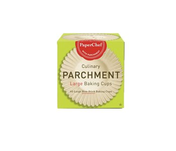 PAPERCHEF Culinary Parchment 60 Large Baking Cups