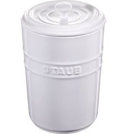 Henckel Storage pot 1.5L white STAUB