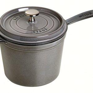Staub Staub saucepan 3 qt STAUB grey