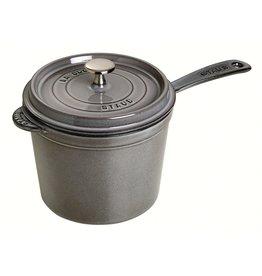 Henckel STAUB Saucepan 1.25 qt grey
