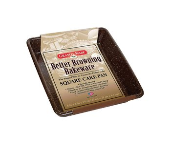 """BETTER BROWNING Square Cake Pan Square 8x8"""""""